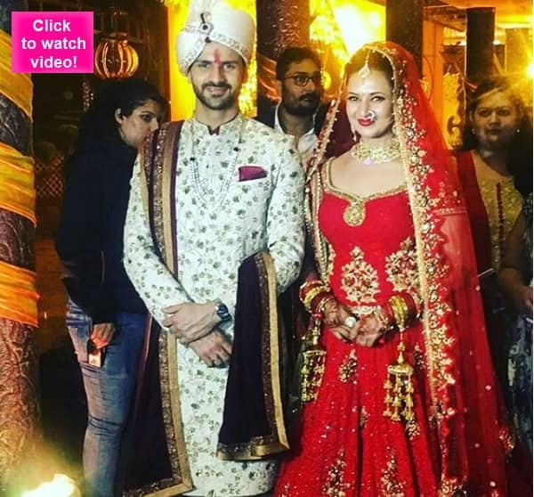 Just married! Divyanka Tripathi and Vivek Dahiya's first appearance after tying the knot – watchvideo