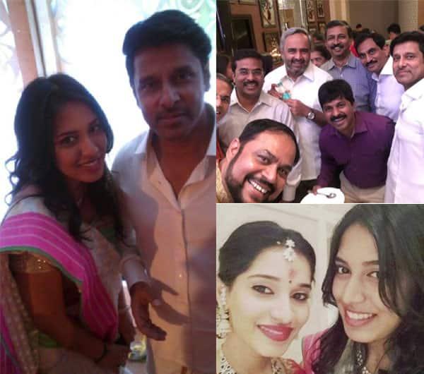 Chiyaan Vikram's daughter Akshita gets engaged to Manu Ranjith!