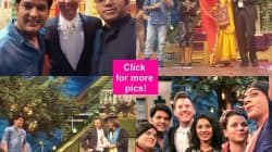 Wowza! Brett Lee attends The Kapil Sharma Show and BOWLS everyone with his dapper look! – view pics