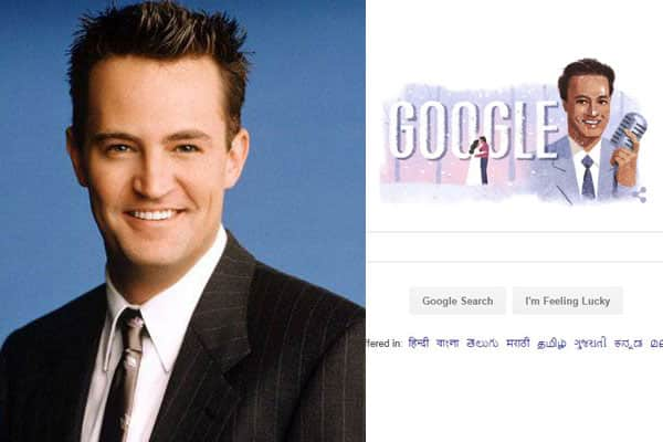 Do you think Google Doodle's tribute to singer Mukesh looks a lot like Chandler Bing?