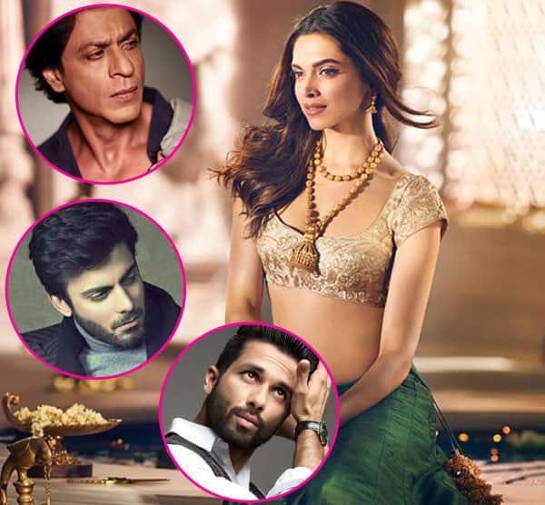 Shah Rukh Khan, Fawad Khan or Shahid Kapoor – who should play Deepika Padukone's husband in Padmavati?