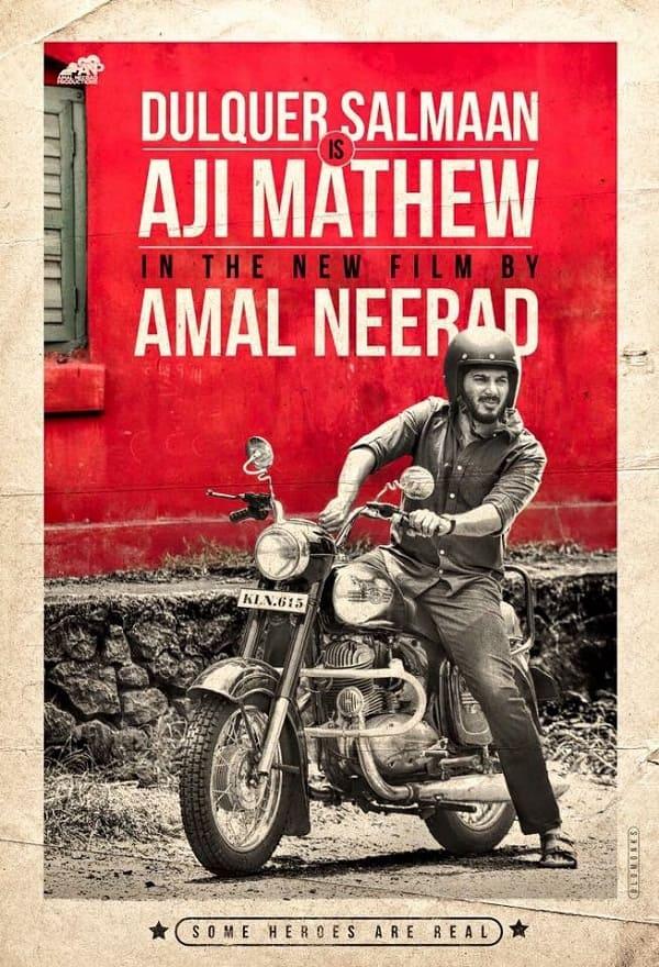 Dulquer Salmaan's first look in Amal Neerad's next is giving us the badass biker boy vibes!