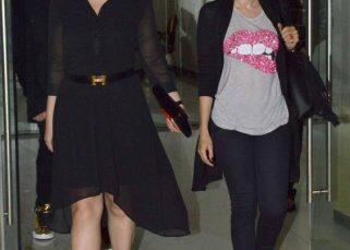 Kareena Kapoor Khan spotted partying with Karisma Kapoor and Karan Johar - view HQ pics!