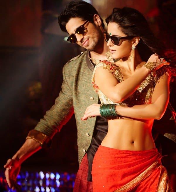 Katrina Kaif and Sidharth Malhotra in Kala Chashma-1