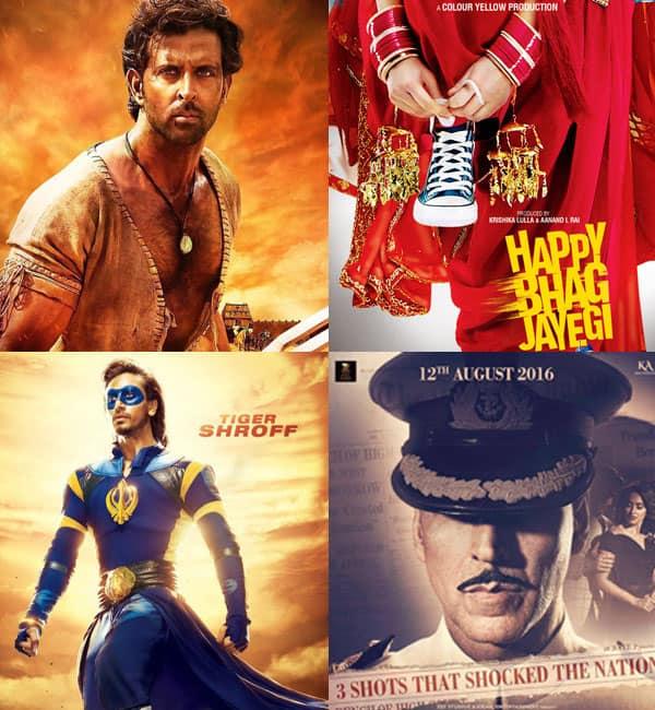 Hrithik Roshan's Mohenjo Daro, Akshay Kumar's Rustom, Tiger Shroff's A Flying Jatt : An entertainment packed August!
