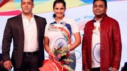 Salman Khan, AR Rahman, Sania Mirza give a PERFECT send off to the Indian athletes headed for the Rio Olympics – view pics!