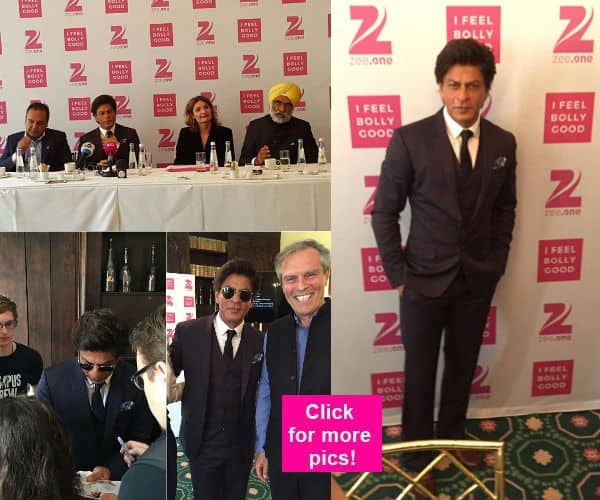 Shah Rukh Khan WOOS his fans in Germany as he launches Zee One in style! – view pics