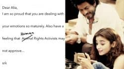 Oh don't worry Alia Bhatt, Shah Rukh Khan has answers to your boyfriend issues!
