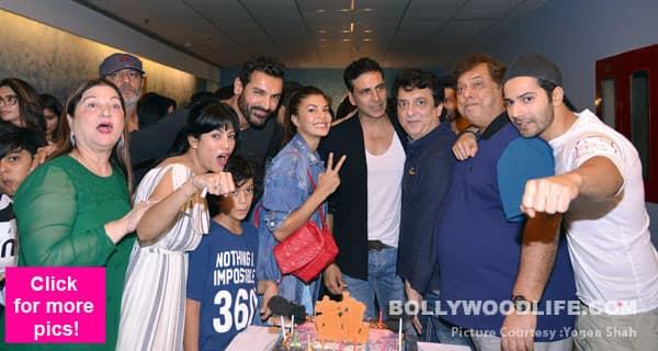 Akshay Kumar, Sonam Kapoor, Tiger Shroff make John Abraham and Varun Dhawan's Dishoom special screening a star studded affair – view HQ Images!