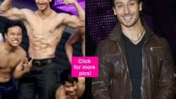 Tiger Shroff went shirtless for a contestant and grabbed MAJOR eyeballs on Dance Plus – view HQ pics!