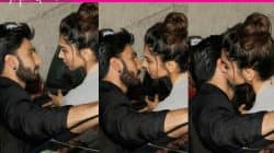 Deepika Padukone KISSES Ranveer Singh and we have it captured in 3 clicks!