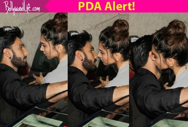 Deepika Padukone KISSES Ranveer Singh and we have it captured in 3 clicks!