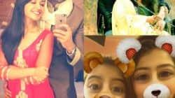 Nikita-Namik's selfie, Aditi-Ruhanika's snapchat filters, Dipika's message for Shoaib – Telly Insta this week