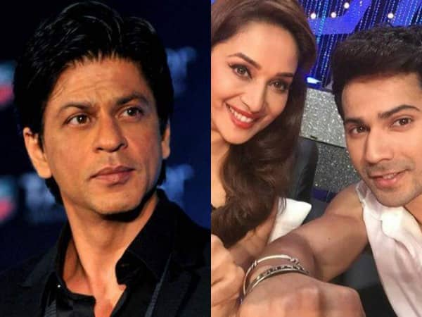 Shah Rukh Khan TROLLS Varun Dhawan and Madhuri Dixit's Devdas Dubsmash in the most HILARIOUS WAY!