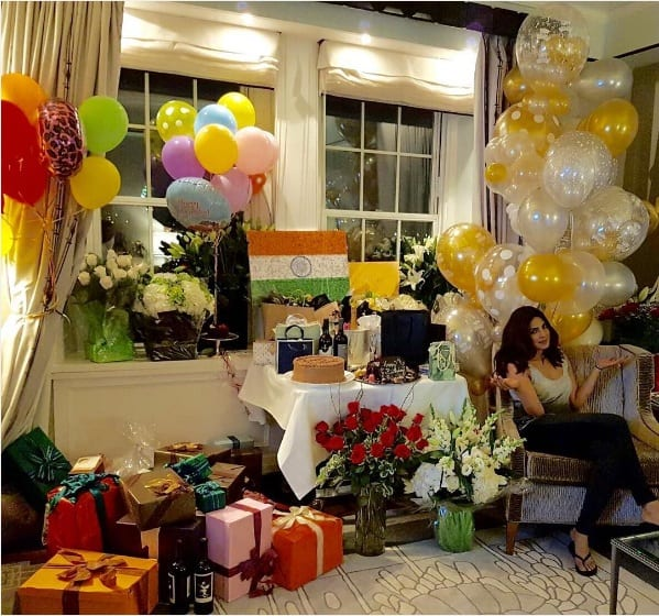 Priyanka Chopra showed off her birthday gifts and we can't help getting jealous!