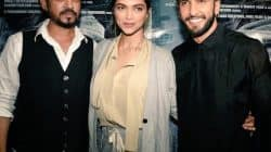 Deepika Padukone and Ranveer Singh arrive together for a movie date – view pic!
