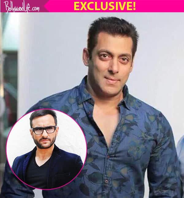 Salman Khan to REPLACE Saif Ali Khan in Race 3?