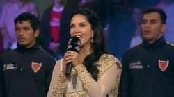Sunny Leone sang the National Anthem, all nervous and proud – watch video!