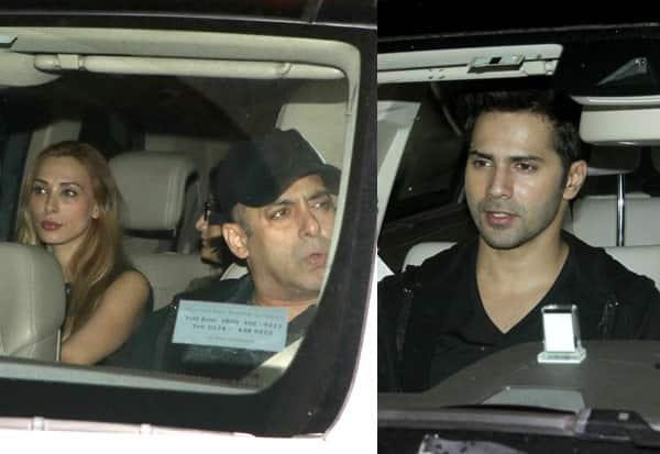 What is Varun Dhawan doing with Salman Khan and Iulia Vantur? View HQ pics!