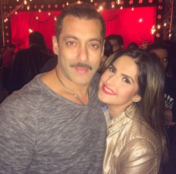 Zareen Khan's reaction to Salman Khan's wedding might upset