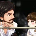 Shah Rukh Khan and AbRam's caricature is the cutest thing you'll see on the internet today!
