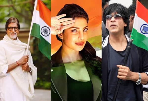 Shah Rukh Khan, Priyanka Chopra, Amitabh Bachchan greet fans on Independance Day