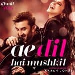 Ae Dil Hai Mushkil second teaser poster: Ranbir Kapoor and Anushka Sharma is giving you the Yeh Jawaani Hai Deewani feels!