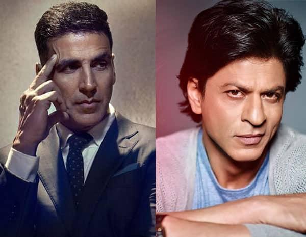Image result for शाहरुख खान ने कहा था मैं अक्षय कुमार से हमेशा ही प्रभावित रहा हूं।