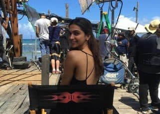 We can't tell if Deepika Padukone's million dollar smile is the real deal in this pic or her sexy back!