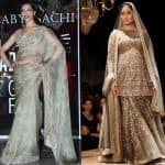 Kareena Kapoor Khan or Deepika Padukone - who looked DREAMIER wearing a Sabyasachi at the Lakme Fashion Week 2016?