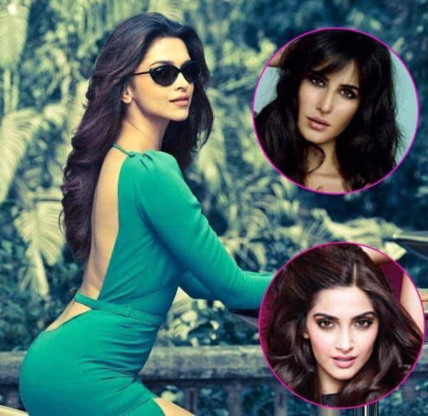 Deepika Padukone BEATS Katrina Kaif and Sonam Kapoor once again!