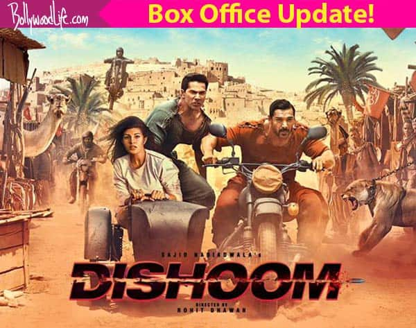 Dishoom box office collection day 3: Varun Dhawan and John Abraham's film earns Rs 37.32 crore over the first weekend!