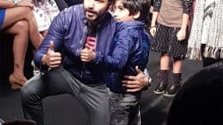 Emraan Hashmi walking with son Ayaan at the Lakme Fashion Week 2016 is the CUTEST thing you will ever see – watch video!