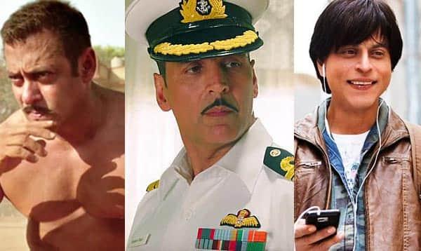 Salman Khan's Sultan, Akshay Kumar's Rustom, Shah Rukh Khan's Fan – Here are the top 5 opening weekend grossers of 2016 till now!