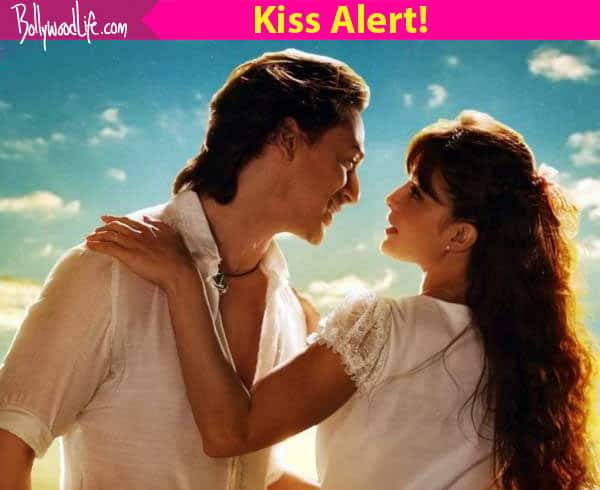 Director says CUT! but Jacqueline Fernandez and Tiger Shroff continue to kiss on the sets of A Flying Jatt