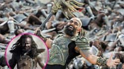Karthi's Kashmora first look totally reminds us Baahubali's Kalakeya!