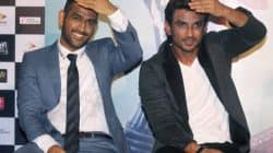 Sushant Singh Rajput and M S Dhoni get nostalgic at the trailer launch of M S Dhoni – The Untold Story – view HQ pics!
