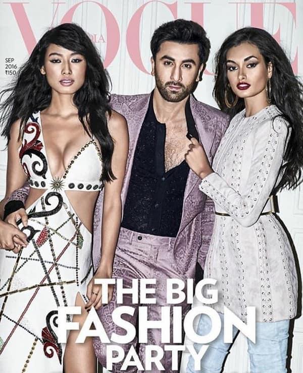 Ranbir Kapoor for Vogue September 16