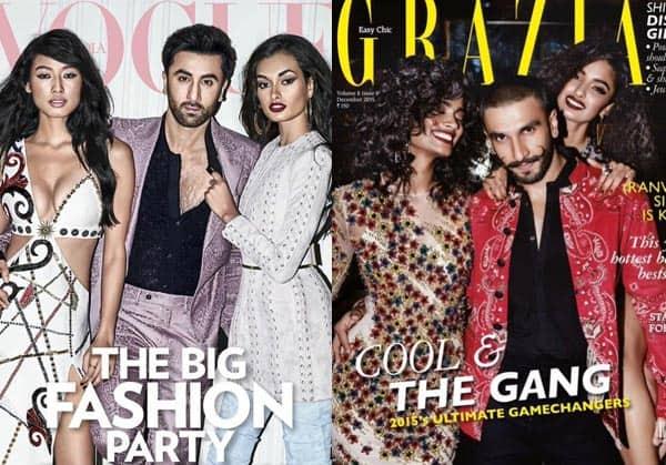 Same Pinch! Ranbir Kapoor's latest mag shoot styling is borrowed from Ranveer Singh!