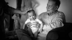 Salman Khan's nephew Ahil just loves his grandfather Salim Khan – this picture is a proof!