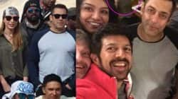 Iulia Vantur is being deliberately cropped out of Salman Khan's pictures from Tubelight schedule in Ladakh?