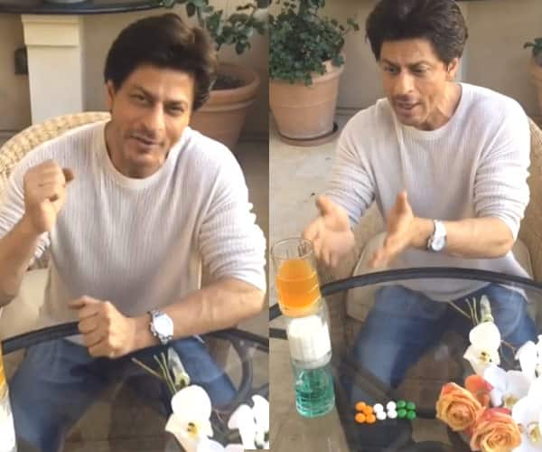 This video of Shah Rukh Khan wishing Independence Day and showing off his kids' creations is the CUTEST thing to watch today!