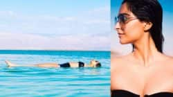 Sonam Kapoor turns the heat up in a bikini – view pics!