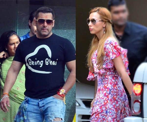 Salman Khan's ladylove Iulia Vantur with his sisters on Rakshabandhan – View HQ Pics!
