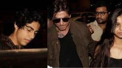 Shah Rukh Khan off to London with Aryan and Suhana but where is AbRam? – view HQ pics!