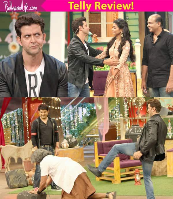 Hrithik Roshan dances to Ranveer Singh's Malhari on The Kapil Sharma Show!