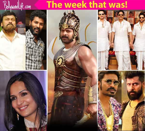 Baahubali 2's Rs 350 crore pre-release business deal,Thodari-Iru Mugan clash – meet the top 5 newsmakers of the week!