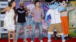 Tiger Shroff, Jacqueline Fernandez and Remo D'Souza promote The Flying Jatt with Chota Bheem – view HQ pics