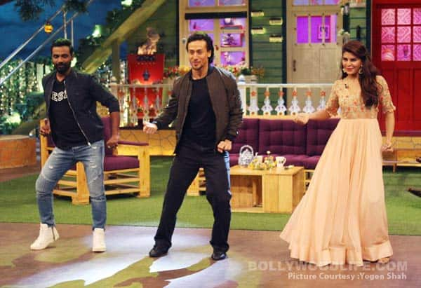 The Kapil Sharma Show: Tiger Shroff, Jacqueline Fernandez and Remo D'Souza bring the house down – view HQ pics!