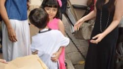 Aaradhya Bachchan and Azad Rao Khan's HUG is too cute to handle!